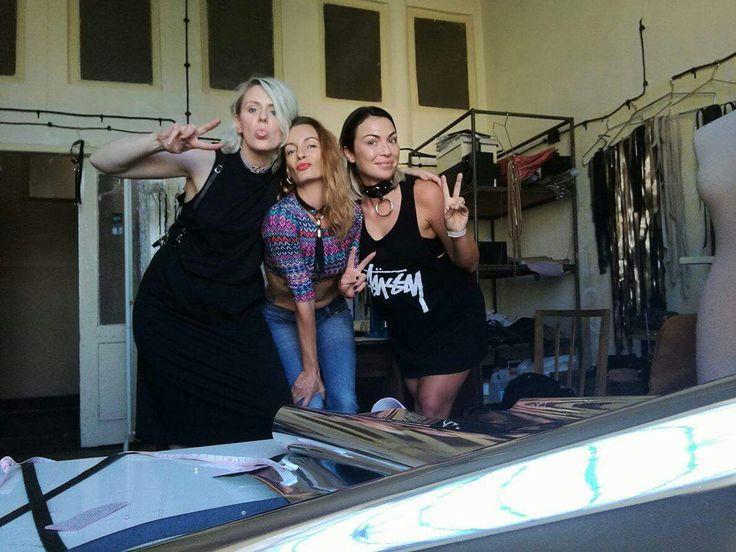 Thats us!!! #girlpower #leather #sexy #powerpuff #cuteasfuck