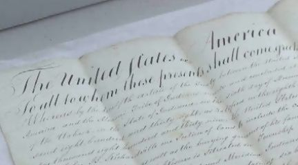 1838 Treaty Found & Returned to Miami Tribe | Indiana's NewsCenter: News, Sports, Weather, Fort Wayne WPTA-TV, WISE-TV, and CW | Local