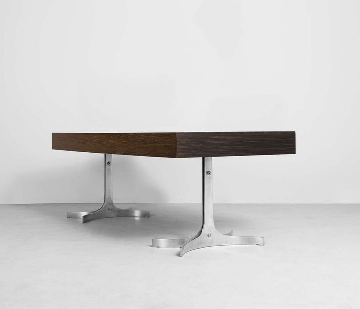 Modern Executive Desk by TRAU in Indian Rosewood | From a unique collection of antique and modern desks and writing tables at https://www.1stdibs.com/furniture/tables/desks-writing-tables/