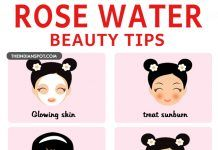 Top 10 beauty tips using rose water for skin and hair