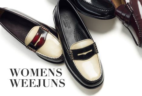 Weejuns   Womens - The Original Penny Loafer, Womens Penny Loafer, Womens Dress Loafers & Leather Loafers - G.H. Bass & Co.