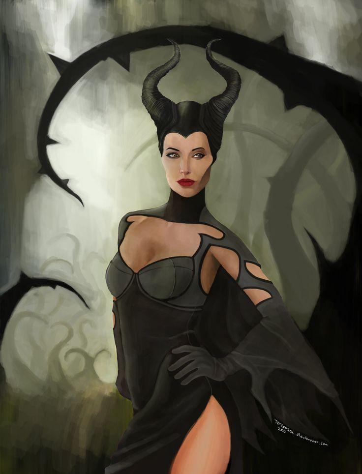 Maleficent aka Pahatar by Temeperkele on deviantART... check it out: http://www.pinterest.com/meldarfranny/