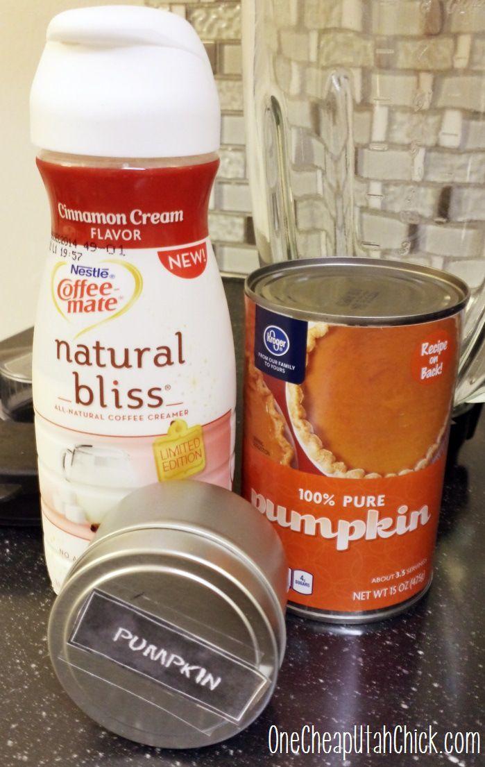 easy homemade pumpkin spice coffee creamer