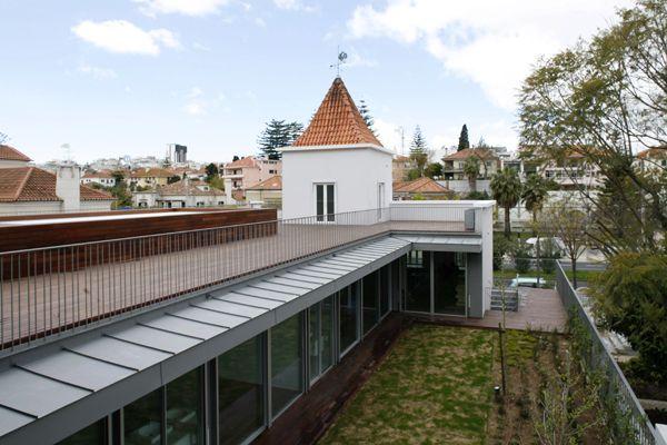 Casas Geminadas em Lisboa : FALCÃO DE CAMPOS, ARQUITECTO