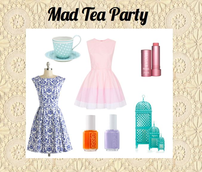 Ride Inspiration: Mad Tea Party | Disney Style...also this years theme for From the Heart at the Zoo!