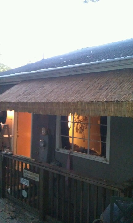Bamboo Awning Diy Diy Awning Pergola Curtains