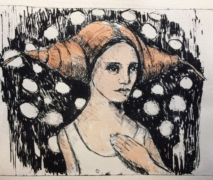 Liv Sørvaag  Litho  Listening to the birds somewhere in there