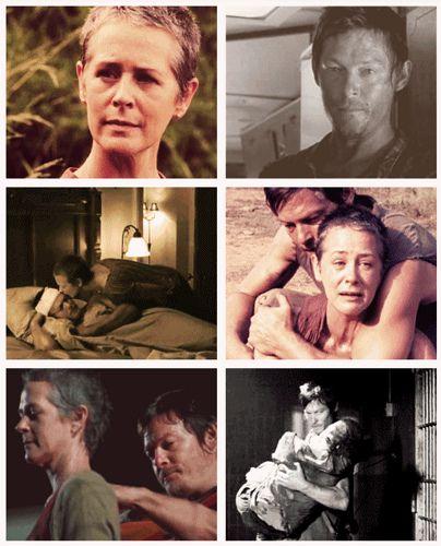 Carol & Daryl, The Walking Dead