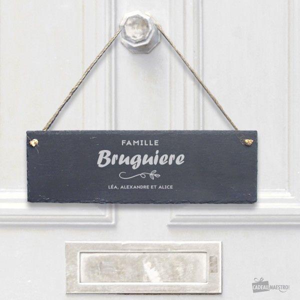 idées cadeaux SIGNE Membre de la famille personnalisé gravé en bois suspendu plaque