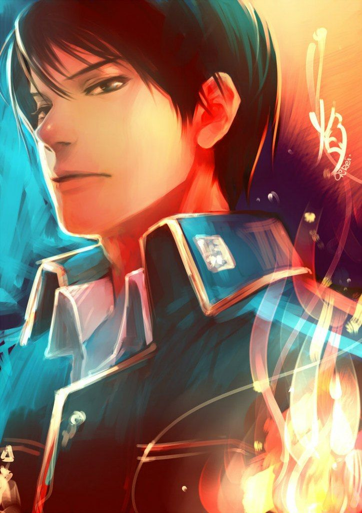 Fullmetal Alchemist, Fullmetal Alchemist Brotherhood, Roy Mustang, Fire