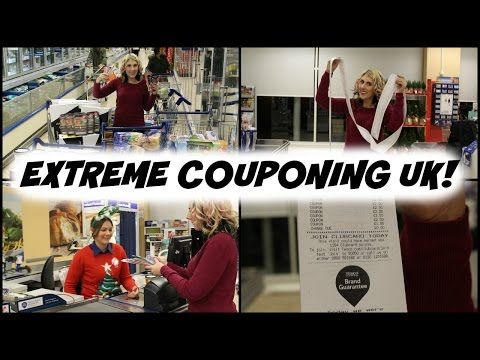 UK Woman Gets $1700 of Groceries Free With Coupons—Extreme Couponing UK Holly Smith