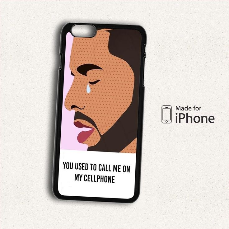 NEW DRAKE HOTLINE BLING FAMOUS MUSIC FUNNY LYRICS SONG For iPhone 6S Plus Case