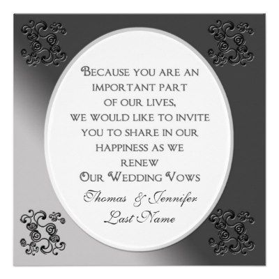 Vow Renewal Ideas | Vows Sample on Sample Renewal Of Vows Ceremonies The Marriage Man