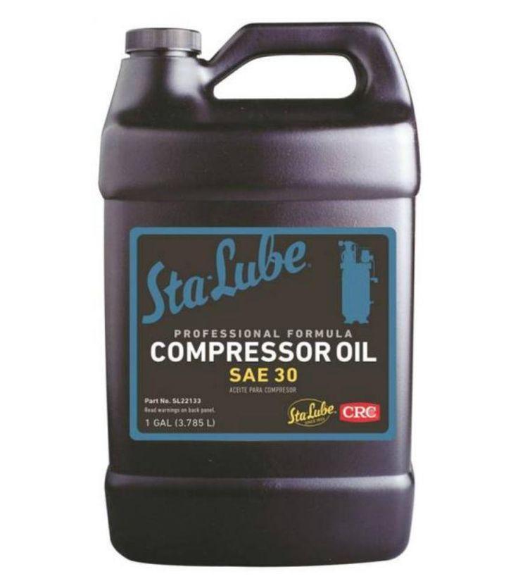 CRC SL22133 Sta-Lube Air Compressor Oil, 1 Gallon