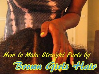 How to Make Straight Parts- Hair Care for Curly Kids | Curly Nikki | Natural Hair Styles and Natural Hair Care