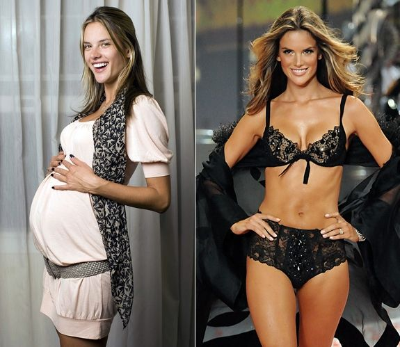 Model Alessandra Ambrosio showed off her killer body - only three months after giving birth to daughter Anja. According to her personal trainer, Leandro Carvalho, Ambrosio had to pay the price for indulging in rich Brazilian food and ice cream during her pregnancy, working it off by sweating through Carvalhos special Brazilian Buttlift workout  a combination of ballet, squats, lunges and capoeira  for two hours a day.