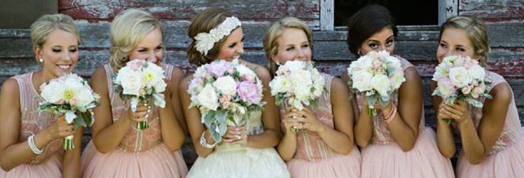 Get ready to fill up your Pinterest boards because you are going to love these cute bridal party photography ideas!