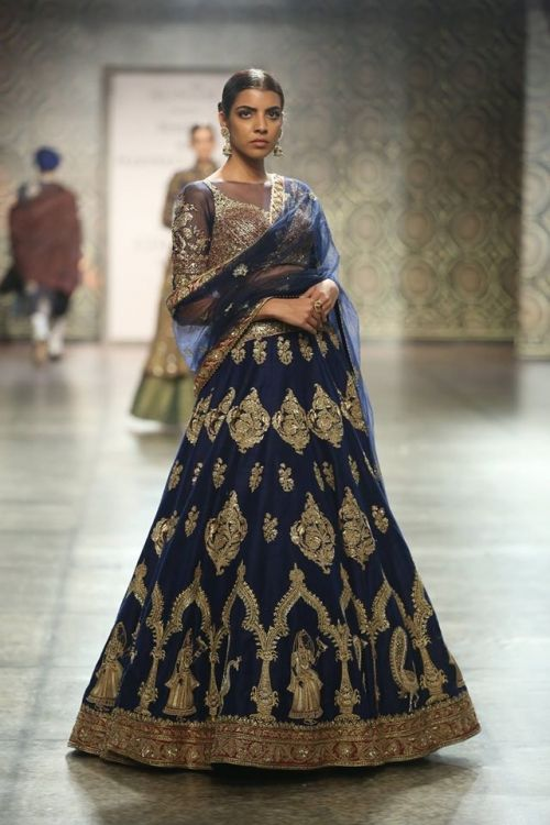 Rimple and Harpreet Narula at India Couture Week 2016 - Look 2