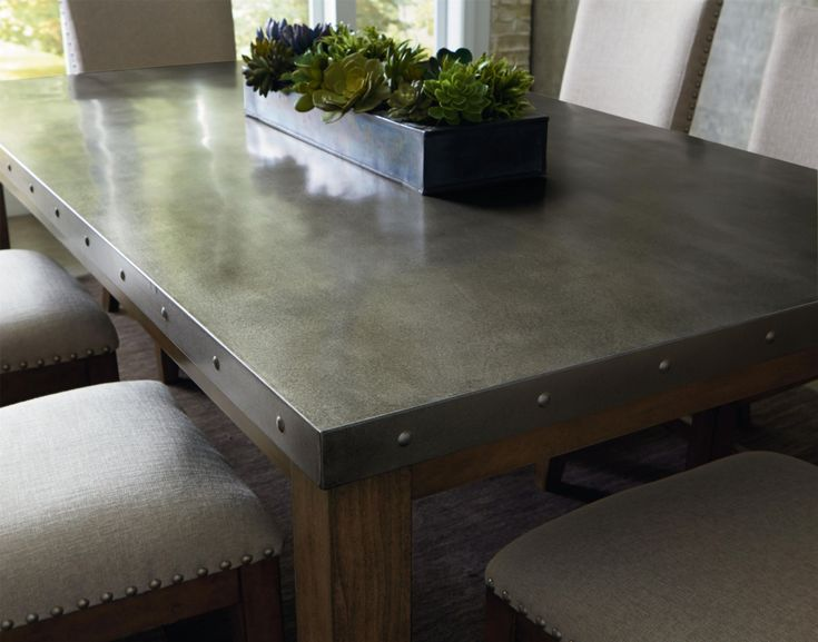 Best 25+ Stainless steel dining table ideas on Pinterest ...