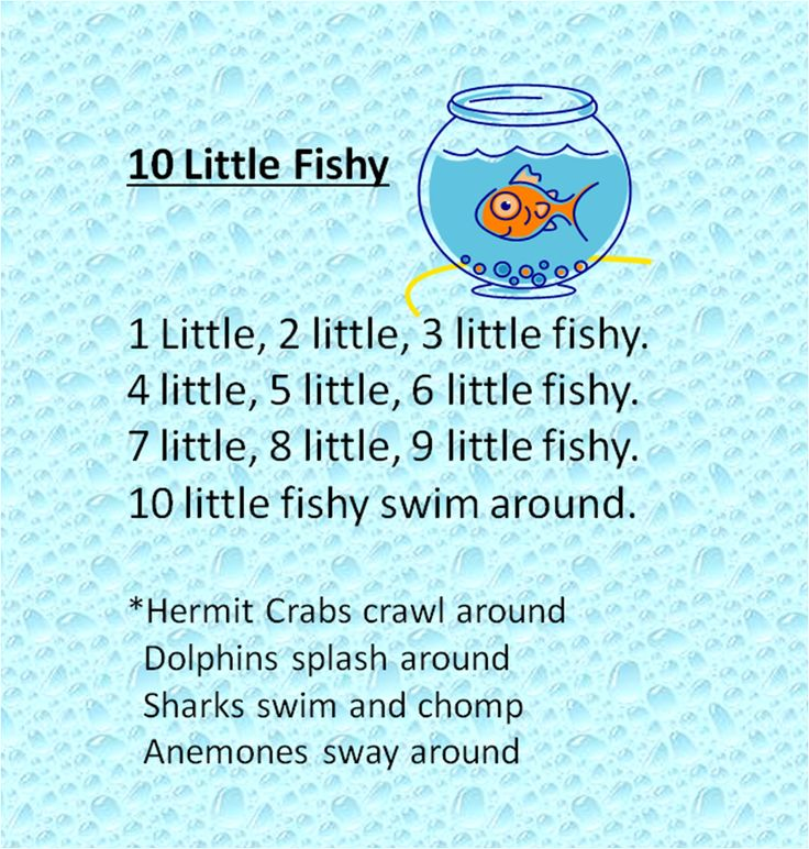 68 best images about songs for kids on pinterest crafts for Fish songs for preschoolers