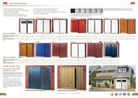 cardale side hinged garage doors