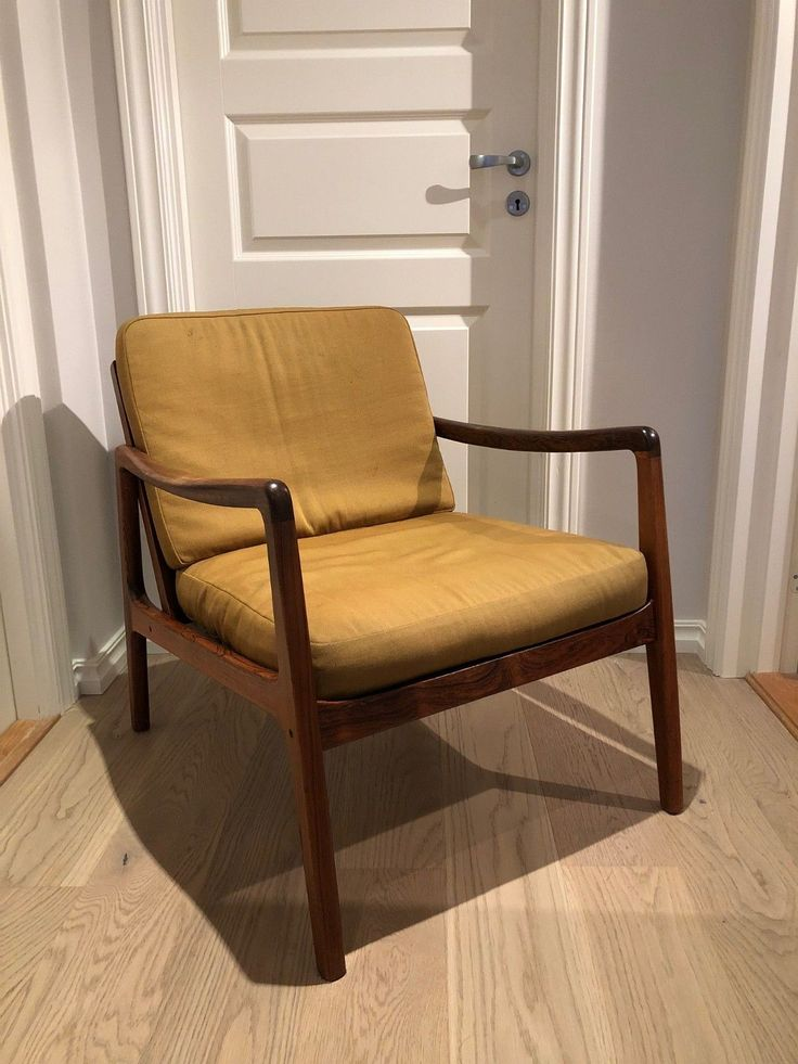 Retro 60-talls stol i dansk design (Ole Wanscher) produsert av France & Søn | FINN.no