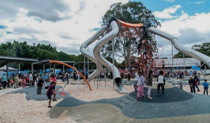 Fairfield Adventure Park - Fab Playground in Western SydneySydney Kids Food + Travel