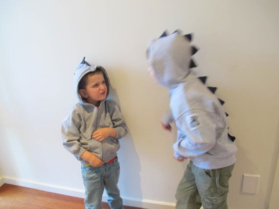 Dino Roar / Dinosaur Jacket with Spikes sizes 2 to 7 by orcwood