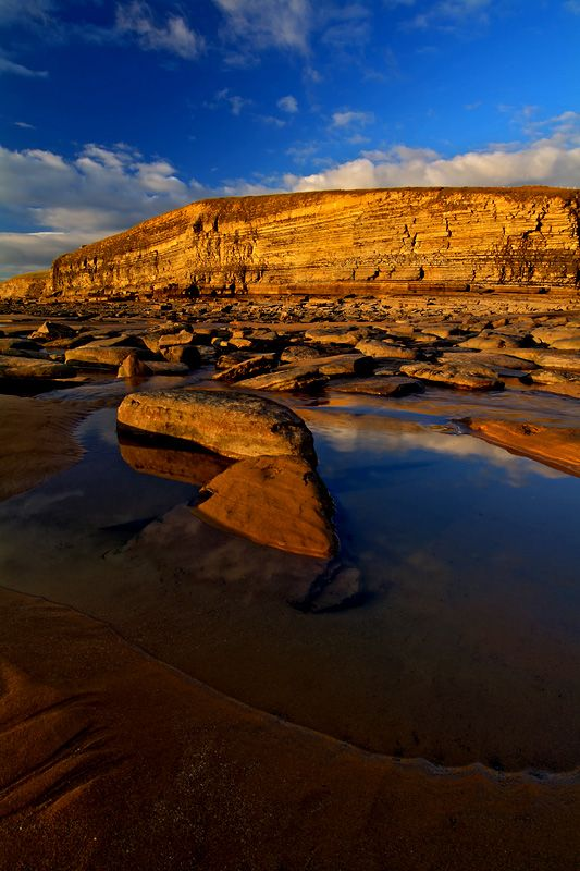 Dunraven Bay, Vale of Glamorgan, Wales, England