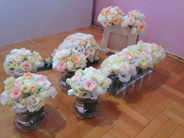 indulásra kész az esküvői dekoráció
