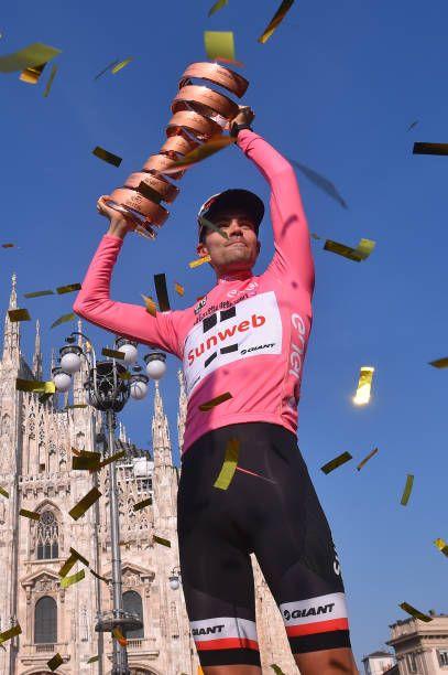 Tom Dumoulin wint de 100e editie van de Giro en is de 1e mannelijke nederlander die dat doet. Na Jan en Joop hebben we weer een mooie ronderenner.
