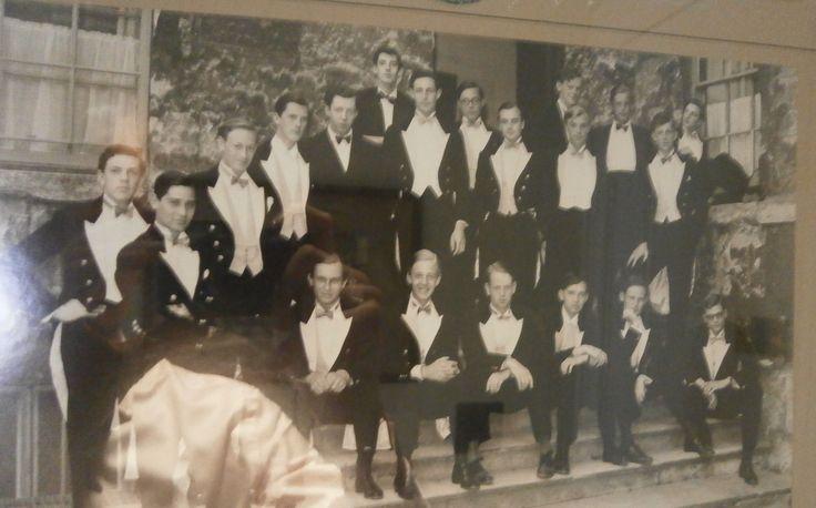 EXCLUSIVE: Bullingdon 1959- UKIP Party Treasurer and Jacob Rothschild in the 'civilized' Bullingdon Club
