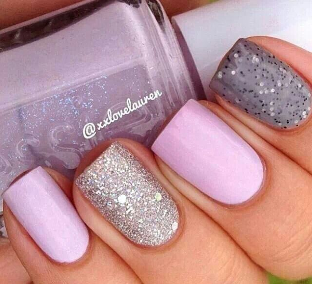 Lavendar nails