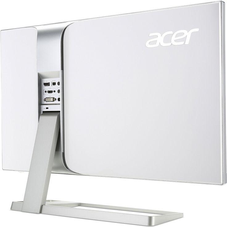 Acer S277HKwmidpp 69 cm Monitor glossy white: Amazon.de: Computer & Zubehör