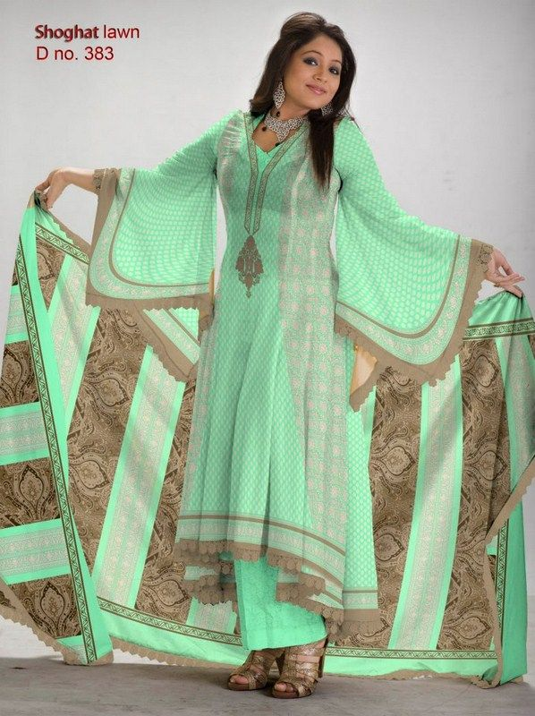 Al-Hamra Textiles Shoghat Lawn Collection 2013 For Women