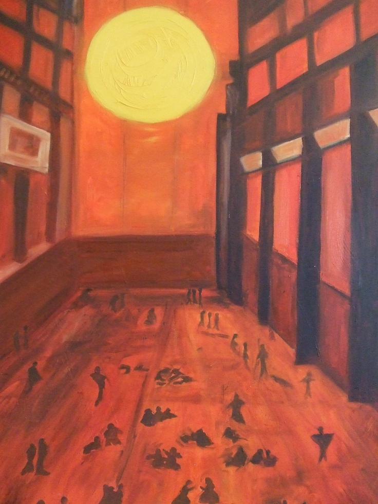 Oil on Canvas High Noon