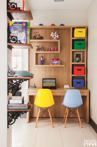 Revista MinhaCASA - Dá gosto trabalhar em casa