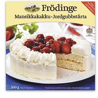 Mansikkakakku Frödinge Mejeri
