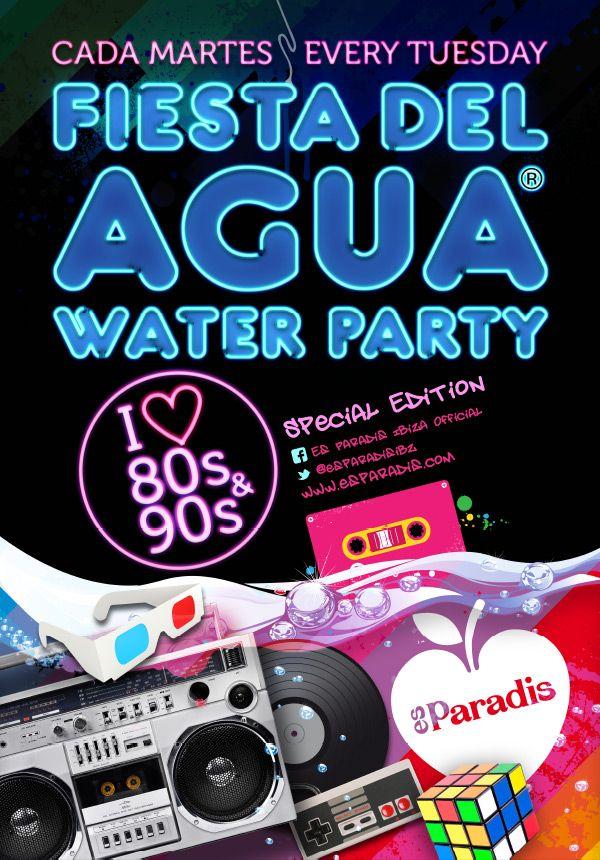 Es Paradis - WATER PARTY (Tuesdays)