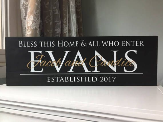 Bless Our Home personalized gift for grandma gift for mom