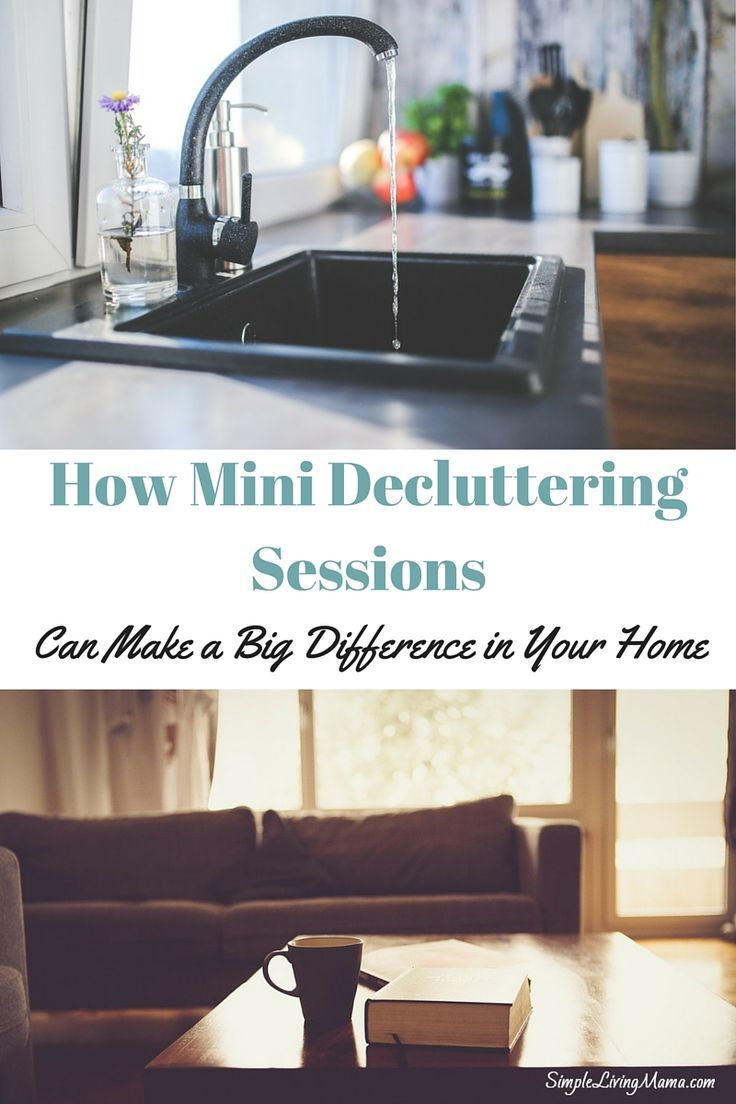 how mini decluttering sessions can make a big difference in your rh pinterest com