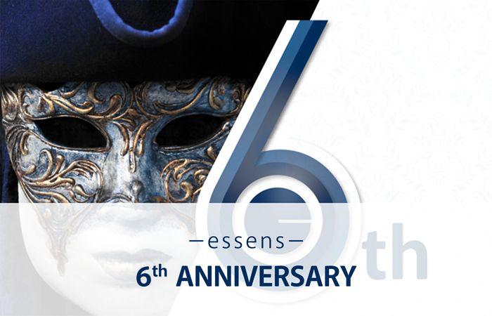 Zúčastněte se s námi velkolepé oslavy 6. narozenin! Třídenní setkání proběhne v jednom z nejromantičtějších měst Evropy, v italských Benátkách, ve dnech 13. - 15. 10. 2017....  www.essens.cz, sponszor ID 10000819