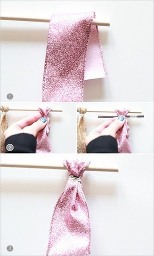 How to build the ribbon wall