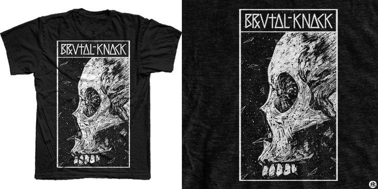 """Broken glass"" t-shirt design by sebrodbrick"