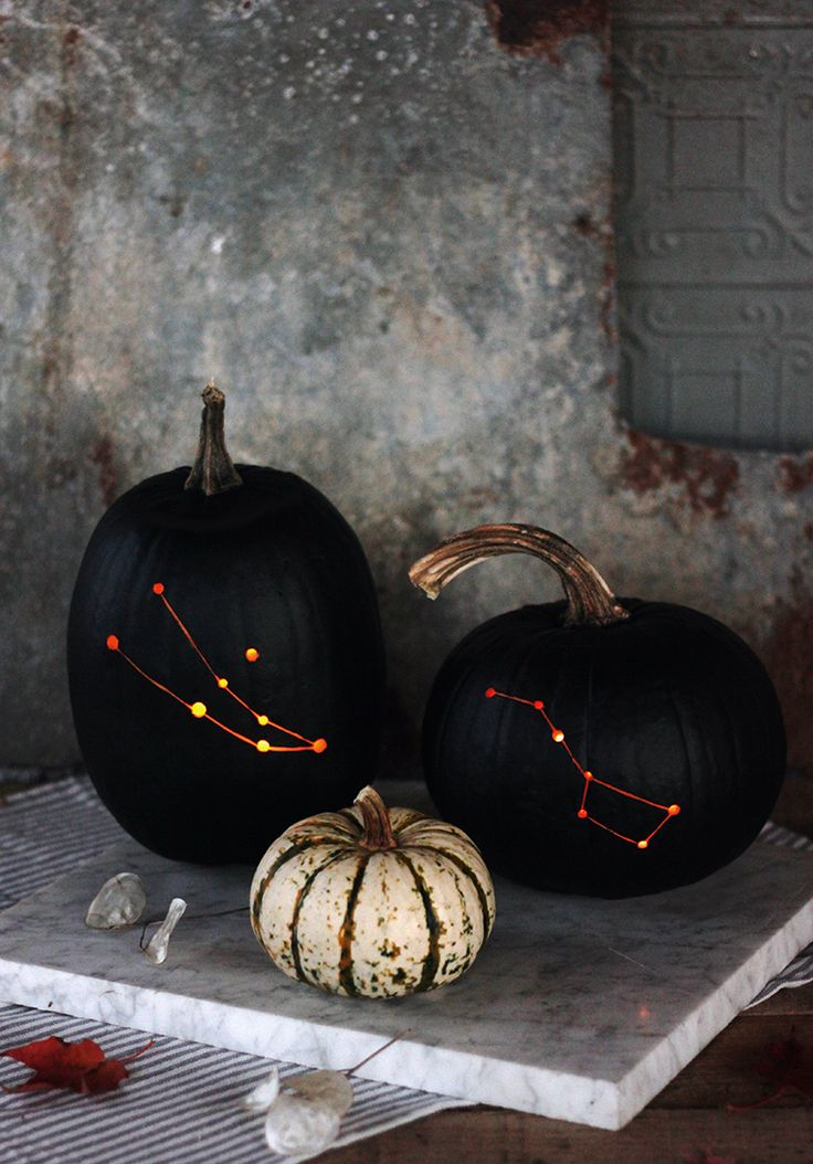 DIY Constellation Pumpkin
