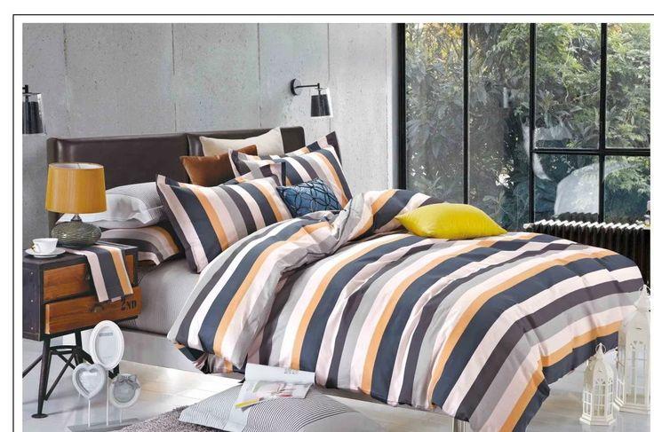 Farebné posteľné obliečky v rozmere 160x200cm