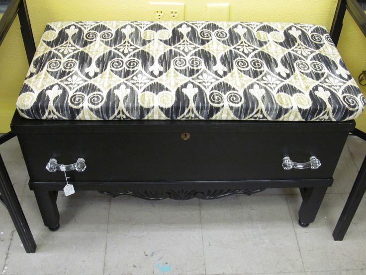 REPOURPOSED DRESSER | Repurposed Antique Dresser into Benches | ReUse, RePurpose, UpCycle