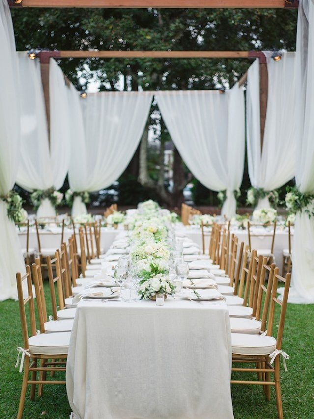 outdoor wedding decoration ideas for fall%0A Charleston Weddings magazine fallwinter        image by  virgilbunao