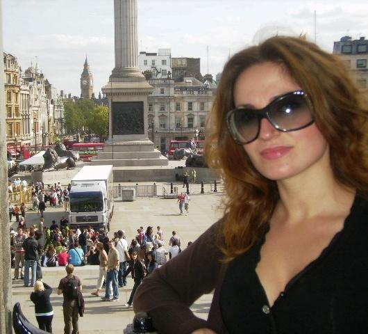 London, 2009, Trafalgar square