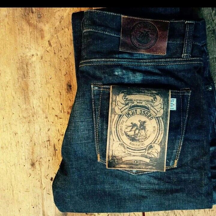 IMjit35020manufactus finest selvedge denim Handcrafted in Due Carrare